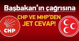 Davutoğlu'na CHP ve MHP'den cevap!