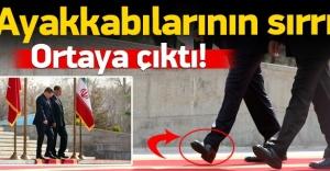 Davutoğlu'nun ayakkabılarının sırrı ortaya çıktı