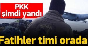 PKK şimdi yandı: Fatihler timi Yüksekova'da!