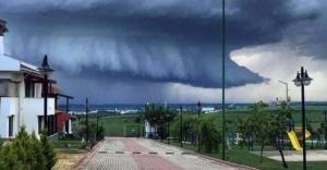 Edirne#039;de çekildi: Uçak bile...