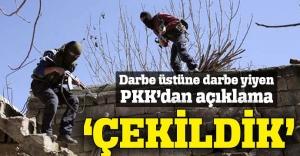 Ağır darbe yiyen PKK'dan Nusaybin itirafı