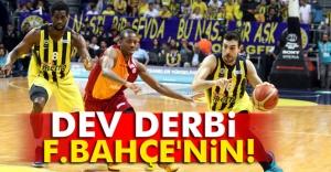 Dev derbi Fenerbahçe'nin!