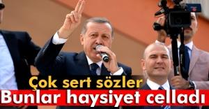 Erdoğan: #039;Bunlar haysiyet celladıdır#039;