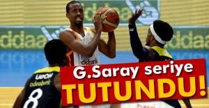 Galatasaray seriyi 2-1'e getirdi