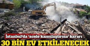 """Gaziosmanpaşa'da """"acele kamulaştırma"""" yetkisi"""