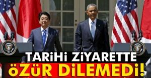 Hiroşima'da ilk ABD Başkanı