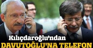 Kılıçdaroğlu'ndan Davutoğlu'na telefon