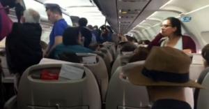 Mabel Matiz'e uçakta teknik arıza şoku