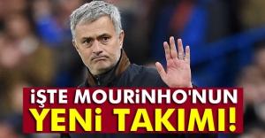 Manchester United, Mourinho'yu resmen açıkladı