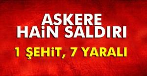 Mardin'de patlama: 1 şehit, 7 yaralı