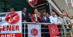 Meral Akşener: 'Bu yürüyüş iktidar yürüyüşüdür'