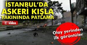 Sancaktepe'de patlama oldu, işte son durum!