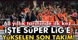 Süper Lig'e çıkan 3. takım Alanyaspor!