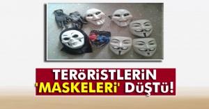 Teröristlerin 'maskeleri' düştü