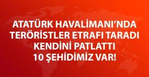Atatürk Havalimanı#039;nda Patlamalar...