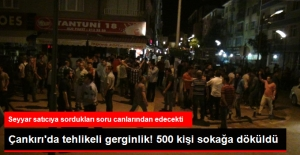 """Çankırı'da """"PKK'nın Renklerinde Tespih"""" Gerginliği! Gençleri Linç Edeceklerdi"""