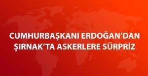Cumhurbaşkanı Erdoğan Şırnak'ta Askerlerle İftar Yaptı