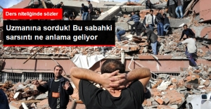 Deprem Uzmanı Değerlendirdi! Marmara'yı Sallayan Deprem Ne Anlama Geliyor