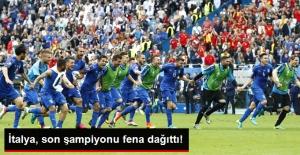EURO 2016'da İtalya, İspanya'yı 2-0 Yenerek Çeyrek Finale Yükseldi