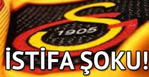 Galatasaray'da istifa deprem!