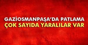 Gaziosmanpaşa'da patlama: 4 yaralı
