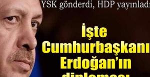 İşte Cumhurbaşkanı Erdoğan'ın diploması