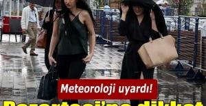 Meteoroloji: Pazartesi yağmur geliyor