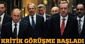 Putin Erdoğan'la telefonda görüşüyor