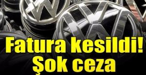 Skandalın ardından VW'ye ağır ceza!