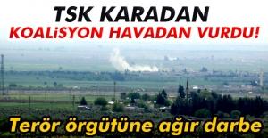 TSK karadan koalisyon havadan vurdu!