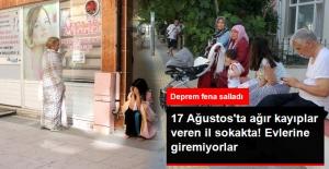 Yalova'da 4.4'le Sallandı, Vatandaş Sokaklara Döküldü