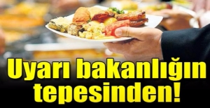 Akdağ'dan uyarı: Bayramda az yiyin