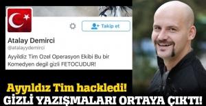 Atalay Demirci#039;nin Twitter hesabı...