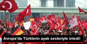 Avrupa'daki Türkler 15 Temmuz Darbe Girişimi Protesto Etmek İçin Köln'de Toplandı!