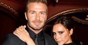 Beckham çiftinin 17'nci evlilik yıldönümleri