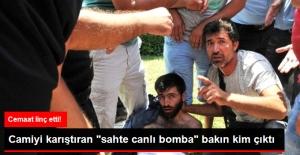 """Camiyi Karıştıran Sahte Canlı Bomba'yı Ailesi """"Kayıp"""" Diye Arıyormuş"""