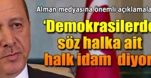 Cumhurbaşkanı Erdoğan#039;dan idam...