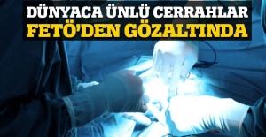 Dünyaca ünlü cerrahlar FETÖ'den gözaltında