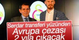 Galatasaray'ın Avrupa cezası 2 yıla çıkabilir