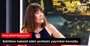 Habertürk'te 15 Temmuz Şehitlerine Hakaret Eden Profesör Yayından Kovuldu