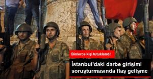 İstanbul'daki Darbe Girişimi Soruşturması: 2070 Kişi Tutuklandı