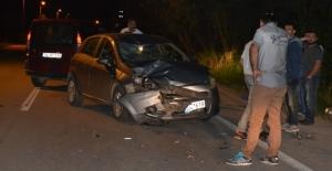 Otomobille motosiklet kafa kafaya çarpıştı: 1 ölü