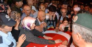 Şehit Polisin Cenazesi Memleketi Konya'ya Getirildi