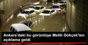 Başkentteki Şiddetli Yağışa Gökçek'ten...