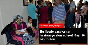 Elbistan'da Aynı Şikayetlerle Hastaneye Başvuranların Sayısı 10 Bini Buldu
