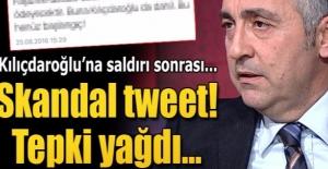 Ergun Babahan'dan Kılıçdaroğlu'na saldırı ile ilgili skandal tweet