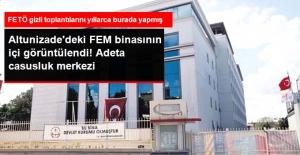 FETÖ'nün Altunizade'deki FEM Binasının İçi Görüntülendi
