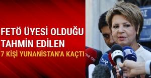 FETÖ üyesi olduğu tahmin edilen 7 kişi Yunanistan'a kaçtı