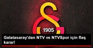 Galatasaray, NTV ve NTVSpor'un Akreditasyonlarını Durdurdu
