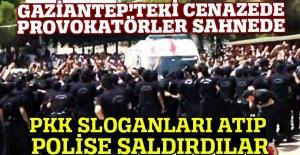 Gaziantep'teki cenaze namazında provakasyon